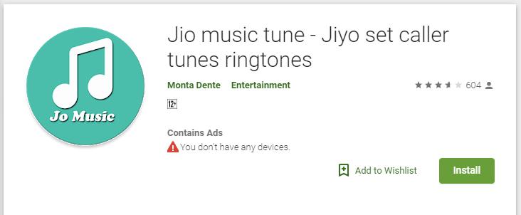jio tune jiyo set caller tunes ringtones app forum